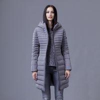 Wholesale Snowka New Brand Design Fashion Down Winter Jacket Women Down Zipper Windproof Thick Duck Down Parkas Witer Coat Women