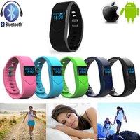 Wholesale 2016 New Brand Hot Sale Smart Wristwatch Waterproof M5S Sport Sleep HeartRate Monitor Bluetooth Bracelet Colours