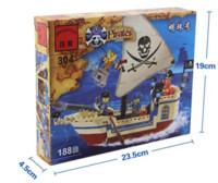 Wholesale Intellectual Assembling Toys Pirate Ship Building Bricks Blocks with Sets Figures block meerschaum block mobile phone signal