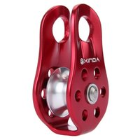 Wholesale Xinda Professional Climbing Rope Pulley Outdoor Travel Kit Hot Sale Outdoor Single Fixed Rock Climbing Pulley For Mountaineering