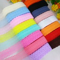Wholesale High Quality Yards of Beautiful Knitting Embroidery Lace Ribbon Width cm DIY Clothing Decorative Accessories Floral Trims