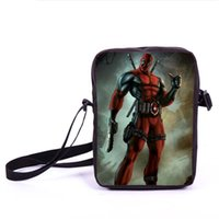 best tote bags school - bag Young Men Mini Messenger s Crossbody Bag Hero Deadpool Kids School Bags Bookbag Children Daily Bags For Snacks Best Gift