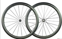 best clincher wheels - Best selling full carbon mm dimple wheels matte finish bike wheelset carbon bicycle wheelset