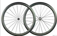 best road wheelset - Best selling full carbon mm dimple wheels matte finish bike wheelset carbon bicycle wheelset