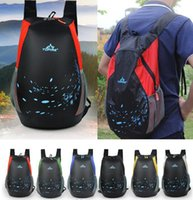 Wholesale Waterproof foldable Nylon Fabric Backpack for woman men s travel sport duffel back pack mochilas camping ultra light outdoor backpack
