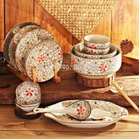 Wholesale Jingdezhen ceramic tableware suit bowl set tableware ceramic suit bowl