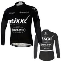 al por mayor ciclismo quickstep-Camiseta de ciclismo de equipo de carrera Quickstep TEAM Ciclismo Camiseta de ciclismo de equipo de carrera EETIXX Camiseta de bicicleta de manga larga BICYCLING Maillot ciclo desgaste