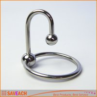 Cheap stainless steel cock ring,cockring lock fine taste delay male glans penis ring,male chastity device,penis sleeve,cock cage
