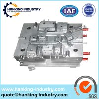aluminum casting suppliers - China supplier Making logo plastic injection moulding used plastic injection moulds spare parts for you project