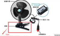 automobile cigarette lighter - Clips Of findfine Auto Car Travel Fan Automobile Cooling Oscillating Fan Clip Fan with Cigarette Lighter Plug not sell fan