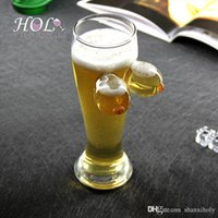 Wholesale hand made creative beer glass cup for nightclub