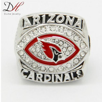 arizona championship ring - Daihe CR Arizona Cardinals NFC National Football Championship Ring Replica Size for men big ring