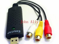 Wholesale Hot sale USB dc60 Tv dvd to vhs Converter video Capture adapter card Audio AV for vista win8 win7 XP