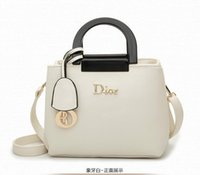 america handbags - Authentic Handbags European And America Women Bag Fashion Leather Handbag Shoulder Bag Lady Mobile Messenger Bag Shell Bag