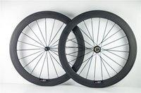 Wholesale 700C mm carbon wheelset K UD clincher tubular mm rim width wheelset carbon wheel roue carbon