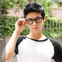 Wholesale Hair products hair wigs for boys and men real and Korean style