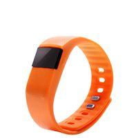 Wholesale Waterproof TW64 Bluetooth Flex Smart Watch Wristband Heath Track Pedometer