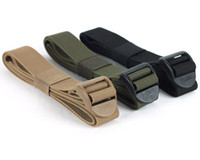 Wholesale ROGISI Multi function Emergency Strap Band Outdoor Belt with Buckle Men Military Airsoft Heavy Duty Belt Hunting Accessories