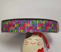 Wholesale yard roll inch printed grosgrain ribbon RTS