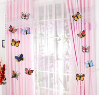 Wholesale 3D cm Butterflies Pin Sticker DIY Curtain Home Decor Butterfly Decor Wall Stickers Curtain Stickers Wedding Decoration