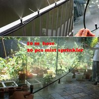 Wholesale 10pcs mm micro tubing mist sprinkler Outdoor Garden Misting Cooling System Mist Nozzle Sprinkler water system