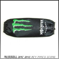 atv shock covers - Rear shock Cover Protector Guard Suspension Cover Green PAW for Motorcycle Dirt Pit Bike ATV