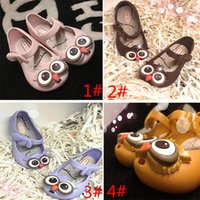 baby girl rain boots - Owl Rubber Sandals New Baby Boys Girls Mini Melissa Sed Rain Boot Casual Shoes Summer Loafers Shoes GD S03