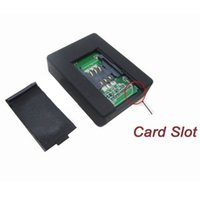 al por mayor accesorios de auto-N9 accesorios GPS en tiempo real dispositivo de escucha de dispositivos espía Mini caja de voz de la tarjeta SIM GSM Rastreador sintonizador auto Vigilancia