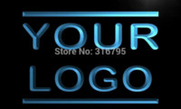 Wholesale tm Logo Only Sign Design Your Own LED Light Sign Custom Neon Signs Bar open Dropshipping