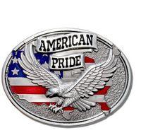 Wholesale 2016 New Super American Pride Belt Buckle America man Big Belt Buckle Buckles