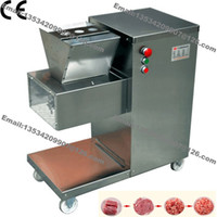 Wholesale 800KG H Stainless Steel mm mm Customized Blade v v Electric Commercial Fresh Meat Slicer Cutter Processing Machine