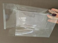 Wholesale High quality Clear transparent plastic box PET PP container boxes Jewelry packaging boxe PVC display box clear