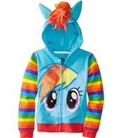 Wholesale Autumn spring girl Hoodies Sweatshirts Child clothing Kid Long Sleeved Sweater