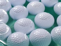 golf driving range - factory price high quality piece range golf balls driving range floater balls floating balls color floater balls