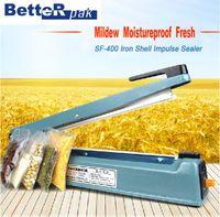 Wholesale SF400I Iron Shell Hand Impulse Sealer plastic film aluminum film bag kraft paper bag sealing machine handle sealer