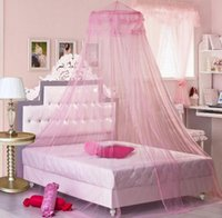Wholesale Encryption General Dimension camping Mosquito NetDomes nets Ceiling nets Hanging Princess netsBed Bud silk lacemantle ChorouGeneral Dimensio