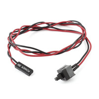atx computer cases - IMC Hot ATX Computer Case Power Supply Reset Switch Cable Cord
