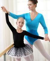 Wholesale 2016 Pretty Girls Ballet Dress For Children Girl Dance Clothing cotton Kids Ballet Skirt Costumes Children Dance Leotard Dancewear