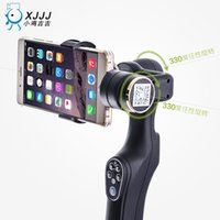 Wholesale 2016 Hot Cameras Stabilizer Smart Handheld Gimbal Fot Smart Phones Goophone S7 i6s Phones Fast Shipping