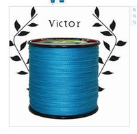 Wholesale 100m Strands Blue PE Braided Fishing Line Fishing Tackle Textile Line Kite String Road Sub Line