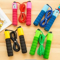 adult jump ropes - Electronic counting of adult dance students skipping rope tricks to lose weight and skipping rope skipping PVC senior high school