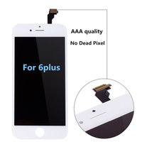 Wholesale For High quality No dead pixel iPhone plus lcd display with touch screen digitizer complete for inch DHL