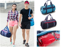 Wholesale New High Capacity Wet and Dry Separation Storage Bags Swim Sport Gym Shoulder bag Handbag For Men and Woman