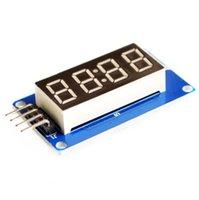 Wholesale 4 Bits Digital Tube LED Display Module With Clock Display TM1637 for Arduino Raspberry PI