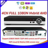 Wholesale EPCCTV New Technology CH Full real time fps N AHD DVR AHD NH CCTV Video Recorder Channel P AHD HVR DVR NVR Four in one xmeye