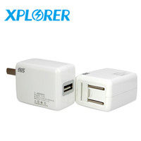 Wholesale factory wholesell Xplorer USB A auto business charger wall charger quick charger for iPhone Android