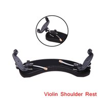 Wholesale High Quality Violin Shoulder Rest Adjustable Violin Fiddle Viola Shoulder Rest Rubber Violin Accessories