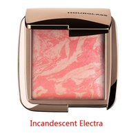ambient stock - 2016 NEW Arrival HOURGLASS Makeup Face Blush Ambient Lighting Powder Natural Blusher Palette Long lasting In stock