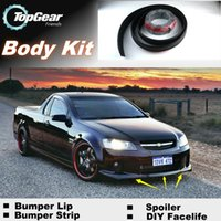 Wholesale For Chevrolet Lumina Bumper Lip Lips Front Spoiler For TG Fans Car Tuning TOPGEAR For Car Tuning The Stig Recommend Body Kit Strip