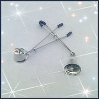 Wholesale Stainless steel Nipple clips with silver color bell